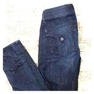 Hudson skinny straight leg jean